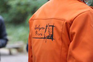 Seilgarten Prora Logo auf Jacke